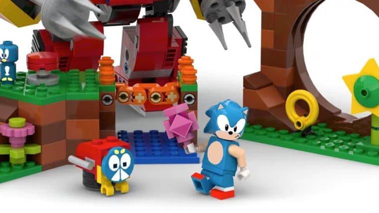 Sonic terá conjunto de LEGO de Green Hill Zone