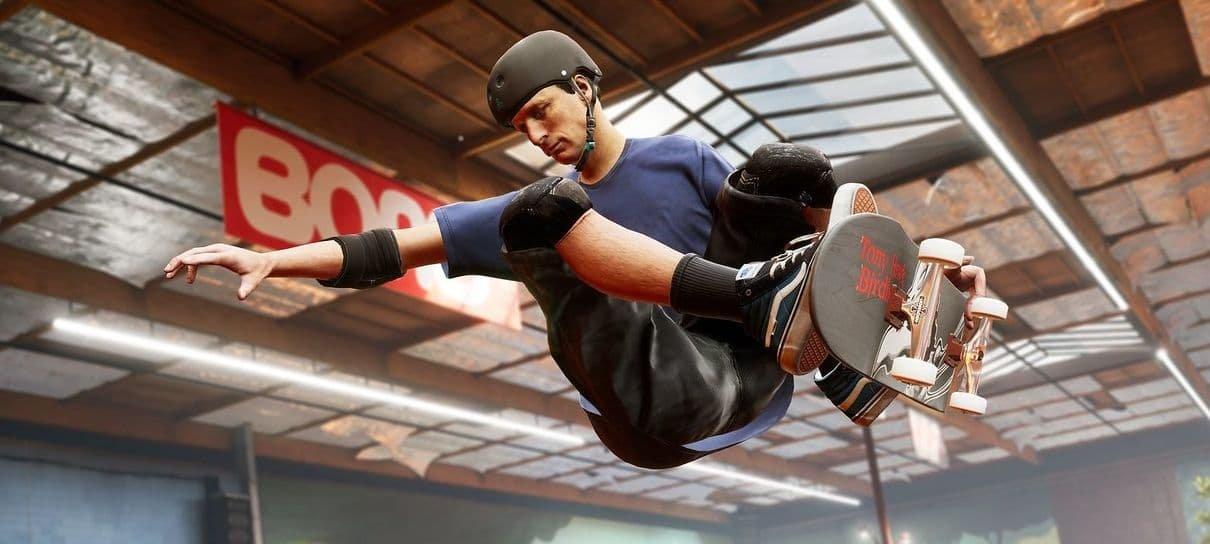 Tony Hawk's Pro Skater 1+2 é anunciado para PS5, Xbox Series X e Switch
