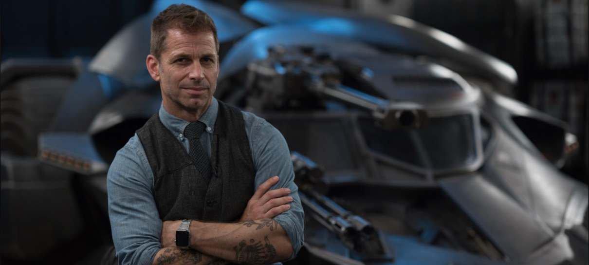 Zack Snyder está desenvolvendo uma