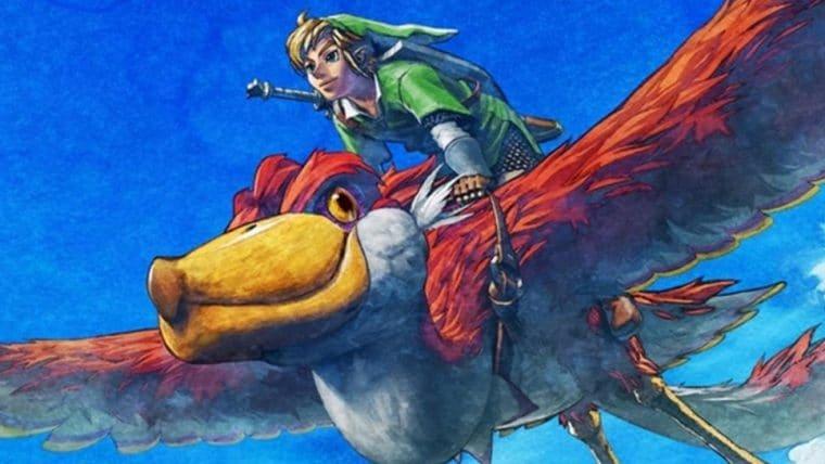 Zelda: Skyward Sword ganhará versão HD para Nintendo Switch