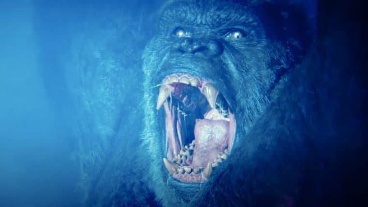 Novo trecho de Godzilla vs Kong é focado em King Kong
