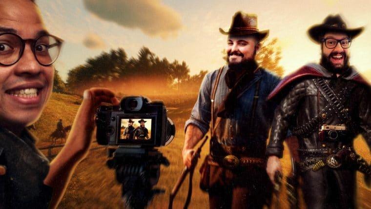 Red Dead Redemption 2 - Fotografando o Velho Oeste