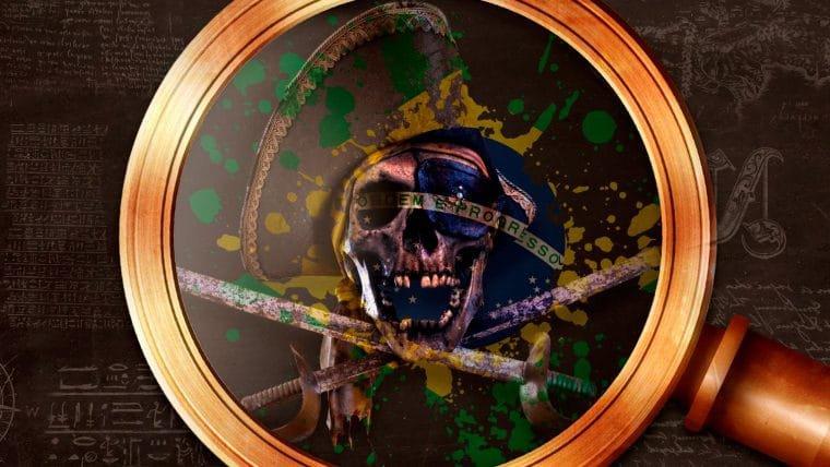 Piratas no Brasil e a colonização
