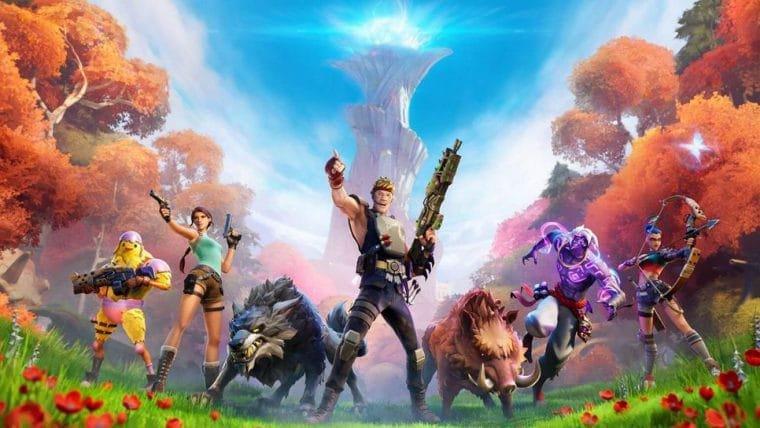 Fortnite terá skins de Lara Croft e Neymar na nova temporada