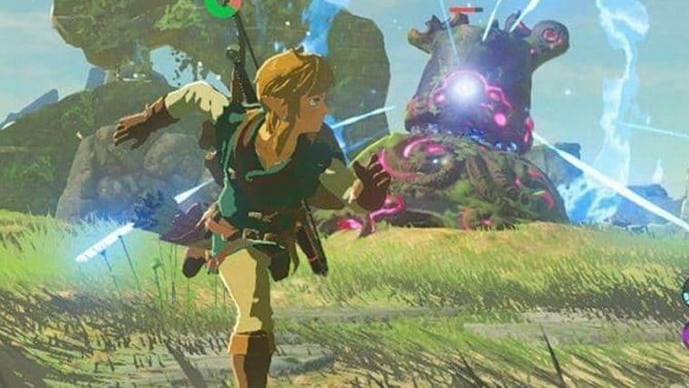 Glitch coloca câmera em primeira pessoa em Zelda: Breath of the Wild