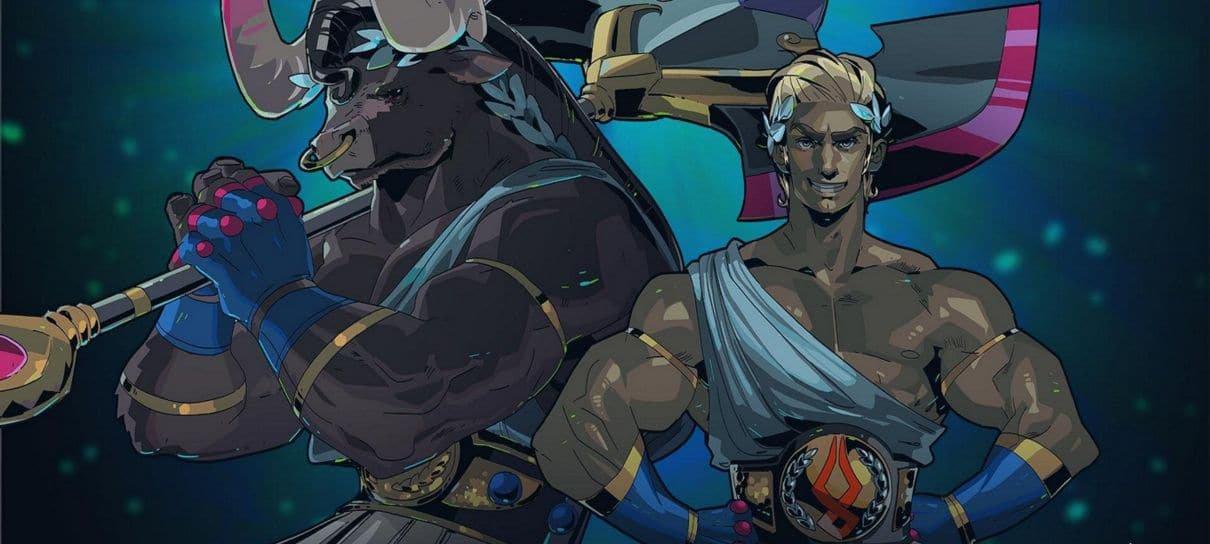 Hades originalmente teria Teseu como protagonista