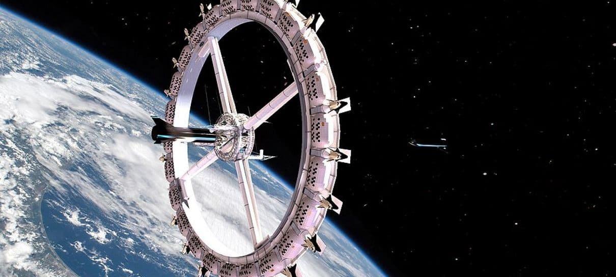 Empresa quer inaugurar hotel espacial até 2027
