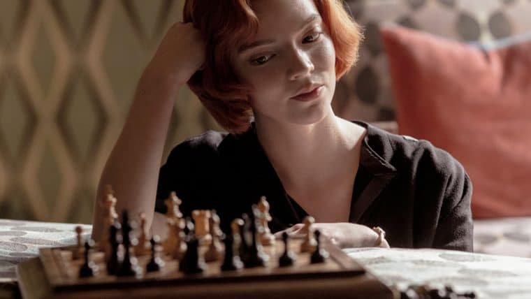 O Gambito da Rainha vence duas categorias do Globo de Ouro 2021