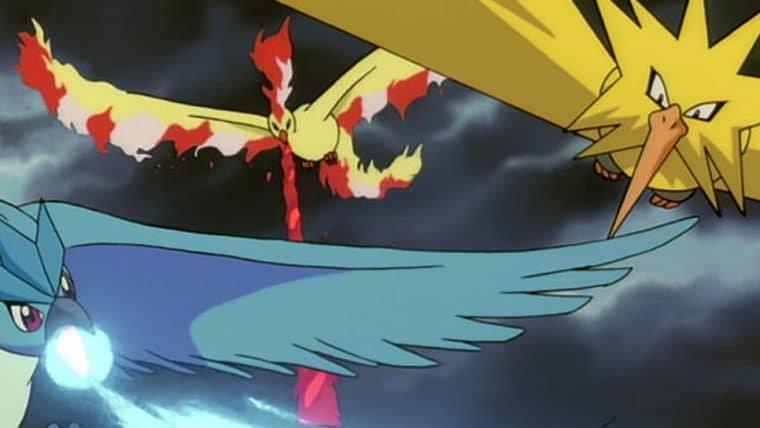 Besouros são nomeados em homenagem ao trio de pássaros lendários de Pokémon