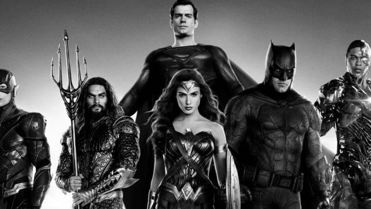 Versão em preto e branco do Snyder Cut da Liga da Justiça ganha teaser; assista