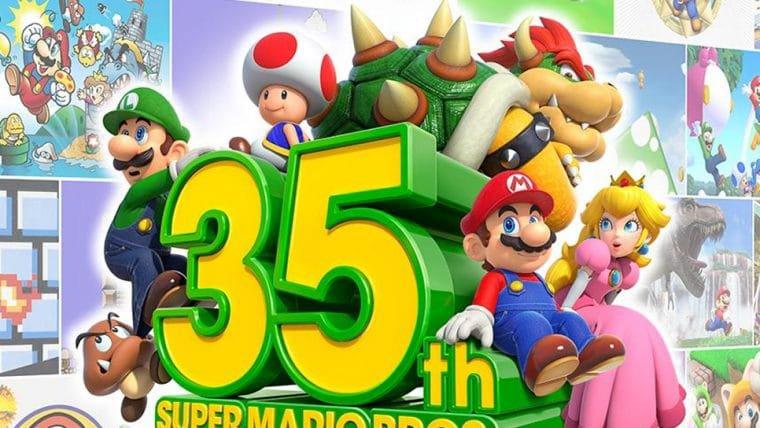 Jogos dos 35 anos de Super Mario serão retirados da eShop hoje (31)