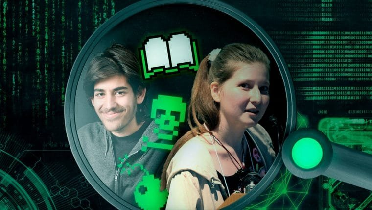 Hackers: Aaron Swartz e Alexandra Elbakyan