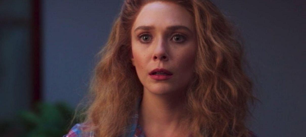 Elizabeth Olsen também pensou que aquela aparição em WandaVision seria um crossover