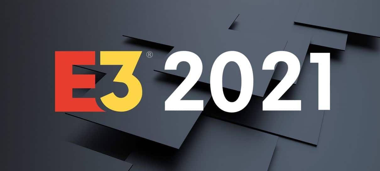 E3 2021 será totalmente digital e vai acontecer em junho