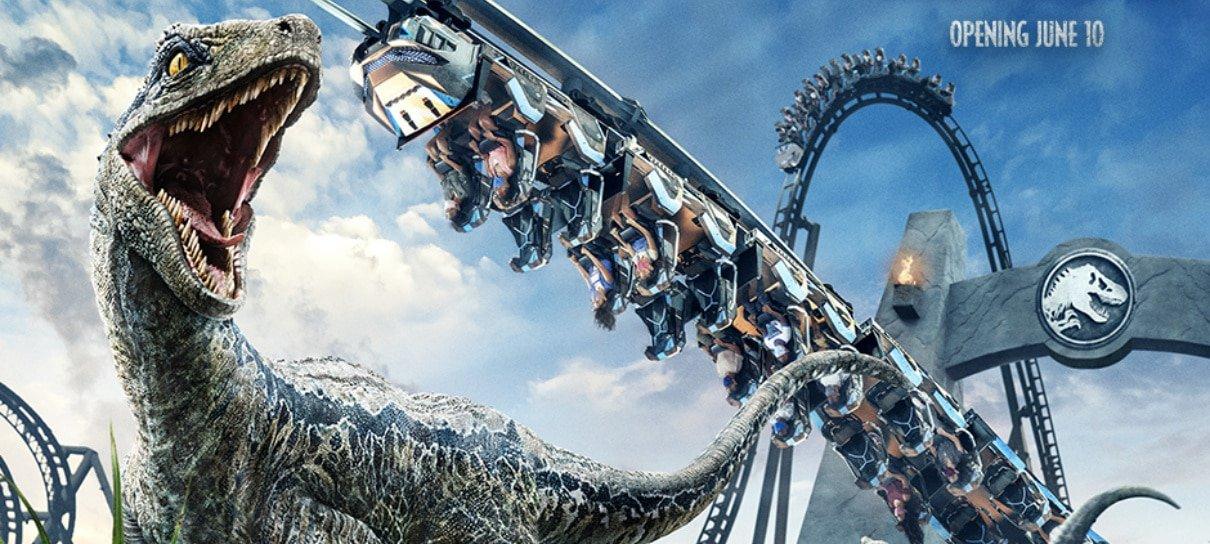 Universal Orlando Resort anuncia abertura da montanha-russa Jurassic World VelociCoaster