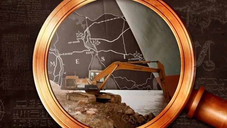 O canal de Suez e sua História
