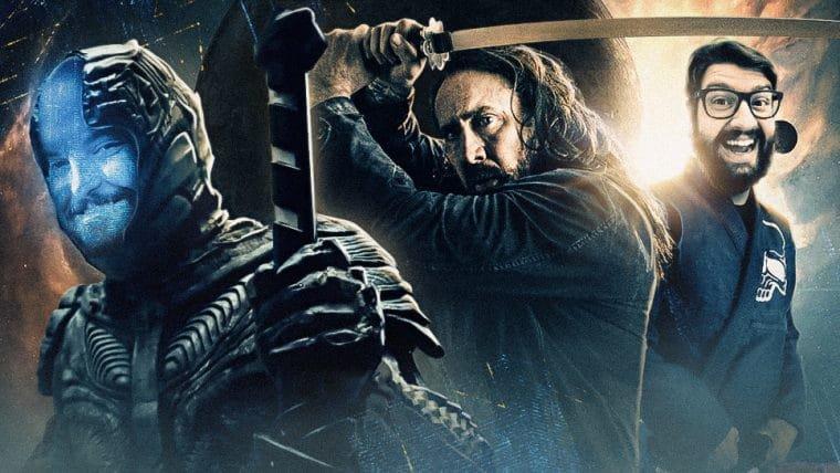 Nicolas Cage lutando Jiu Jitsu contra alienígenas!