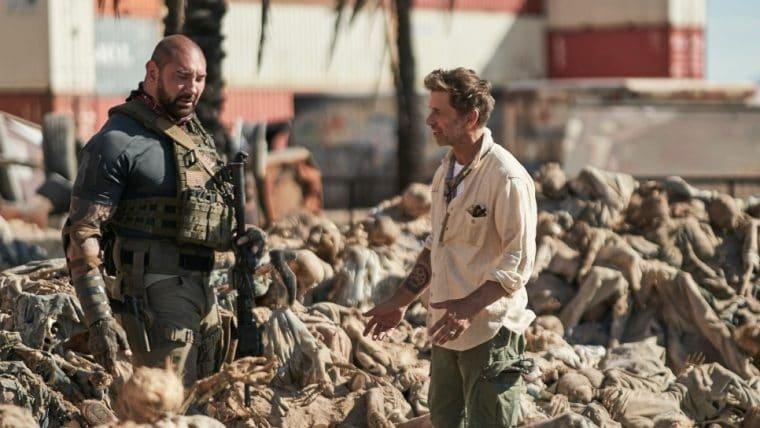 Army of the Dead – Invasão em Las Vegas não terá versão do diretor, diz Zack Snyder