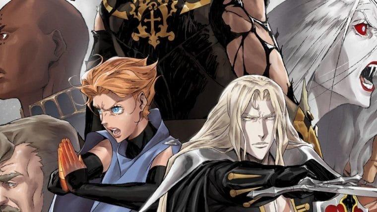 Pôster da quarta temporada de Castlevania reúne os principais personagens