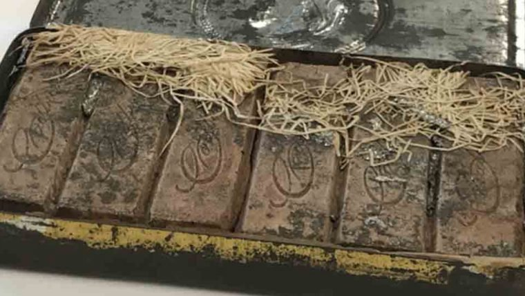 Barras de chocolate de 121 anos são encontradas intactas na Austrália e Inglaterra