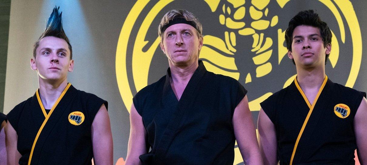 Quarta temporada de Cobra Kai teve gravações finalizadas