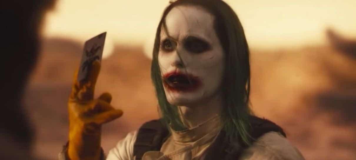 Zack Snyder compartilha cena deletada do Coringa no Snyder Cut de Liga da Justiça