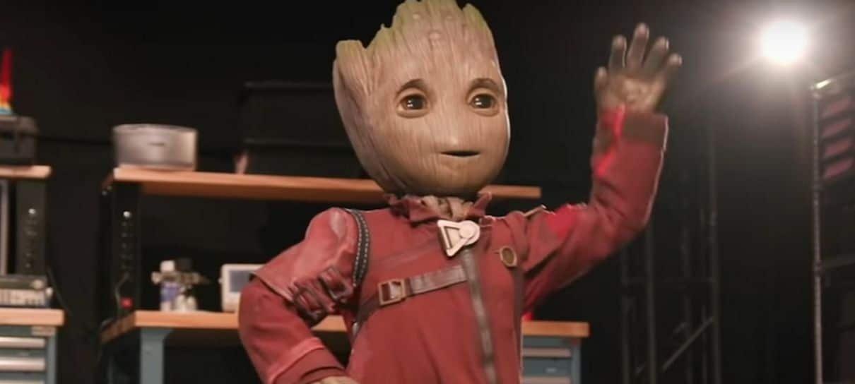 Disney cria robô autônomo do Groot que consegue até dançar