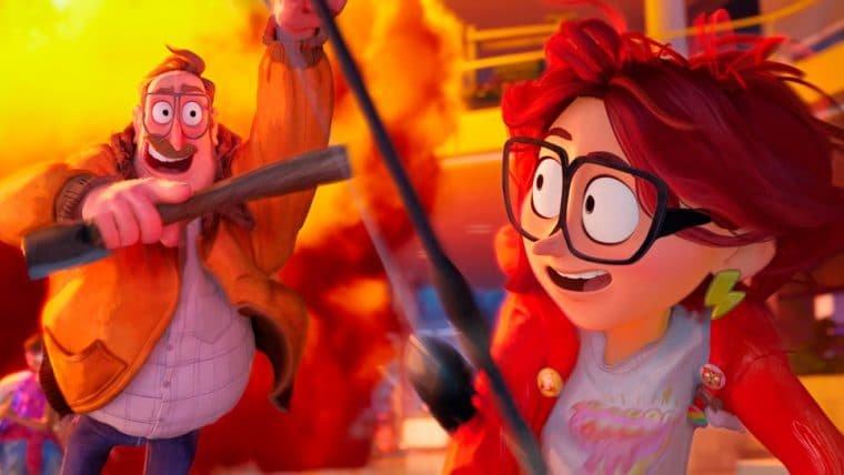 A Família Mitchell e a Revolta das Máquinas mistura estilos de animação em trama frenética