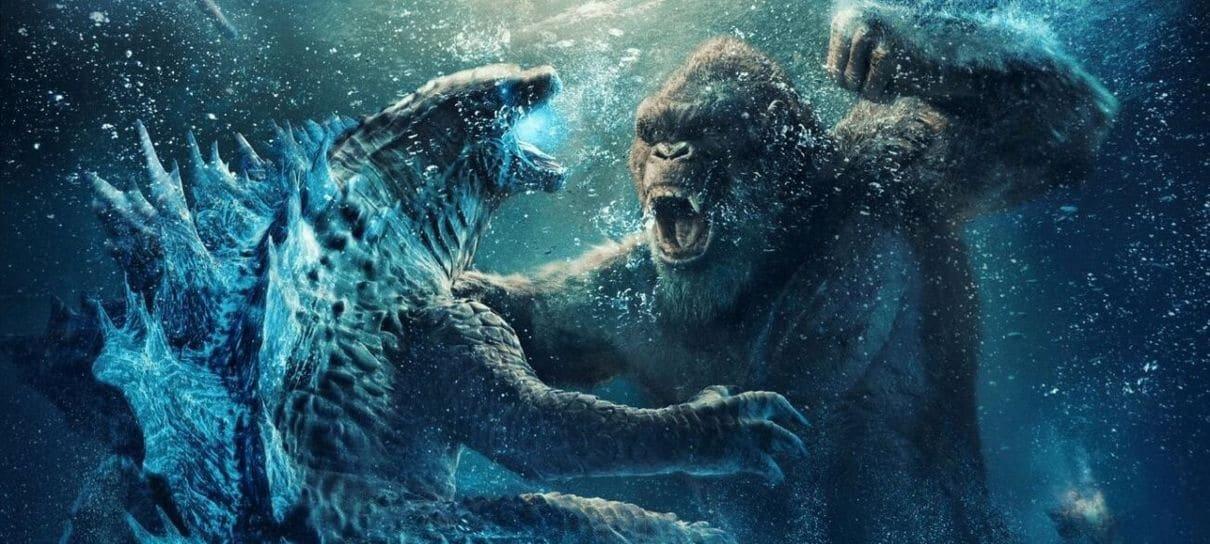 Godzilla vs Kong supera Snyder Cut e Mulher-Maravilha 1984 e é a maior estreia do HBO Max