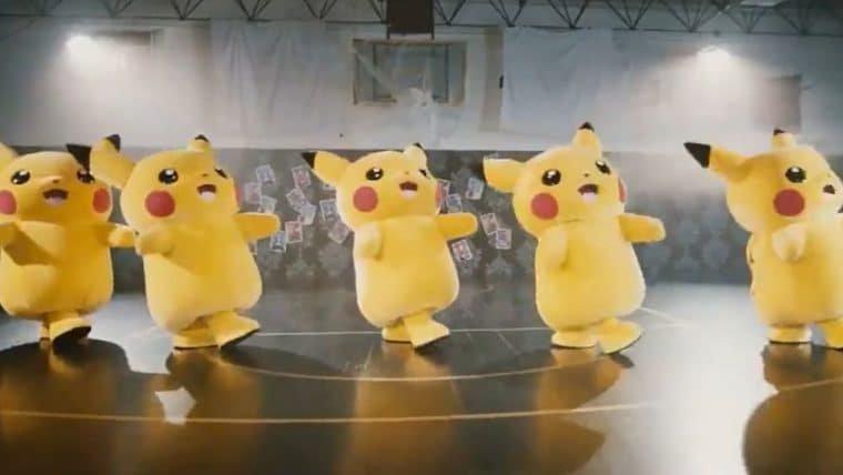 Grupo de Pikachu derrota Team Skull com dança e fofura em vídeo divertido