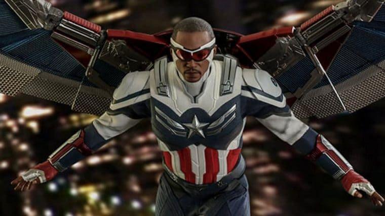 Hot Toys anuncia action figure de Sam Wilson como Capitão América