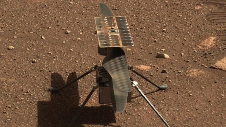 Ingenuity tem voo inaugural em Marte adiado
