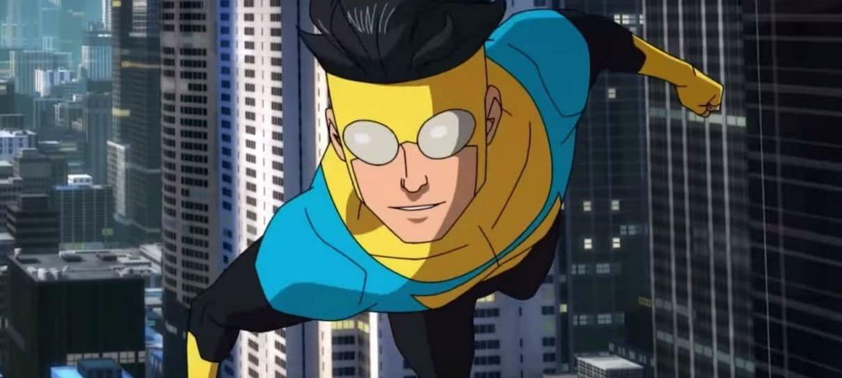 Invincible, série animada de Robert Kirkman, é renovada para mais duas temporadas