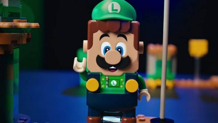 LEGO Super Mario anuncia novo conjunto com Luigi