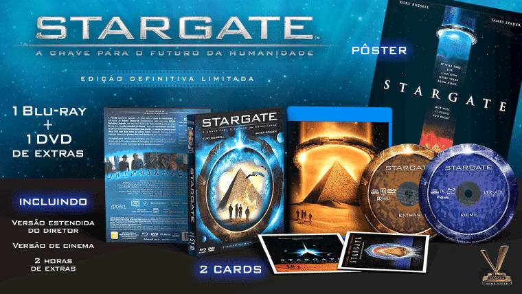 Stargate em Blu-ray