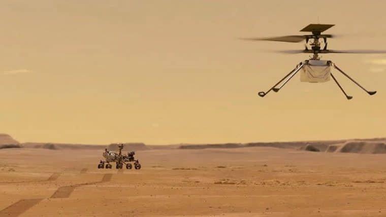 NASA faz história com o voo do Ingenuity em Marte