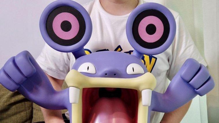 Fã de Pokémon cria caixa de som de Loudred
