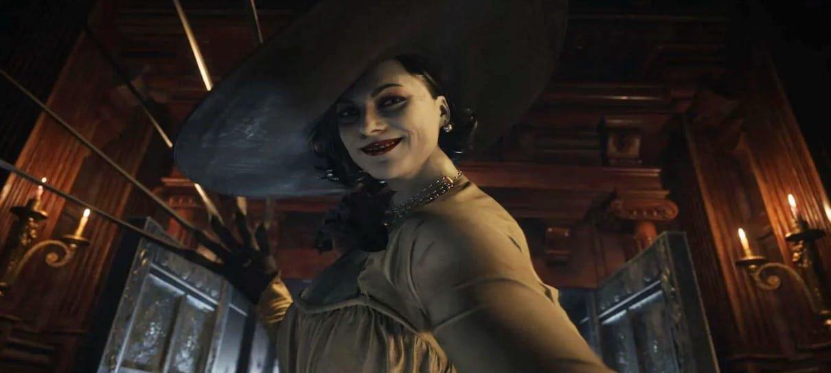 Lady Dimitrescu, de Resident Evil Village, foi criada a partir de personagem do RE7