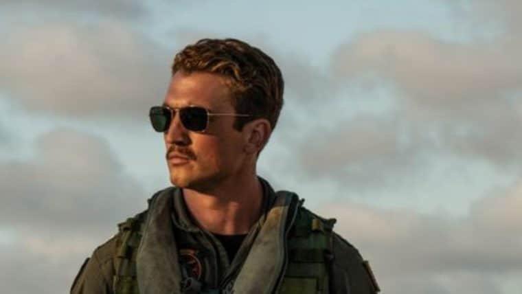 Miles Teller figura nova foto de Top Gun: Maverick