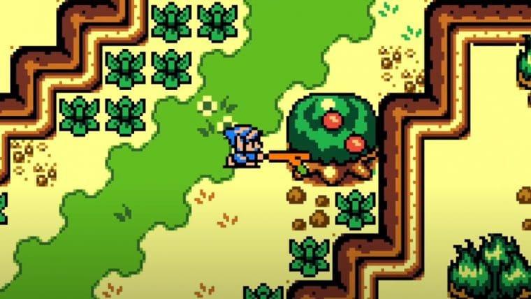 Fã cria versão de Zelda: Breath of the Wild como jogo de Game Boy Color