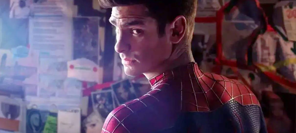 Andrew Garfield desmente rumores de que estará em Homem-Aranha 3