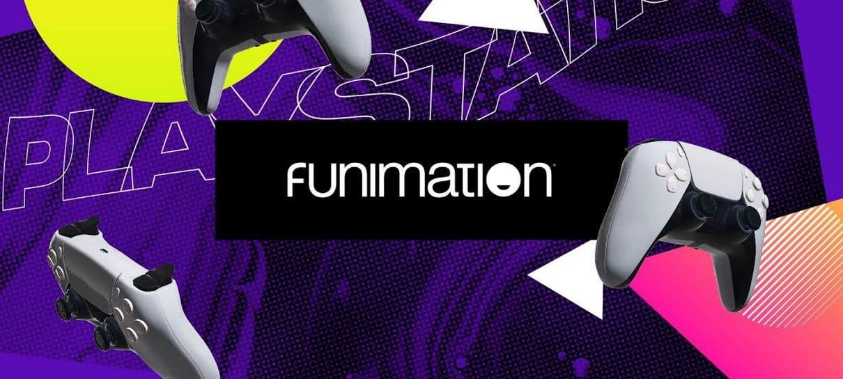 Aplicativo da Funimation é lançado para PS Store brasileira