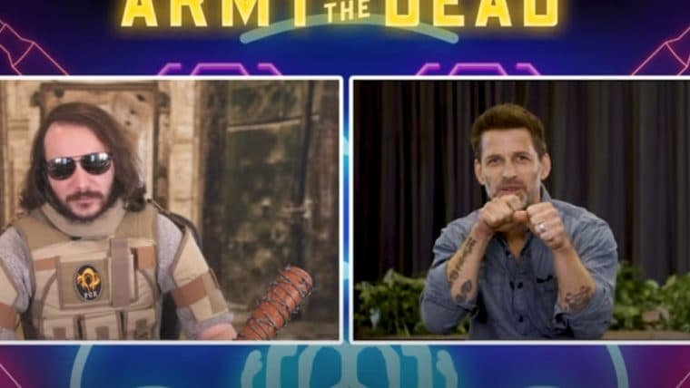 Army of the Dead: Zack Snyder e elenco escolhem armas para apocalipse zumbi