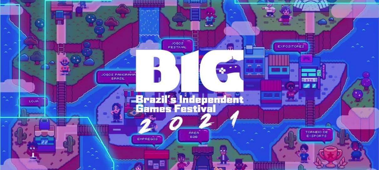 BIG Festival 2021 começa hoje com 100 jogos para jogar de graça e de casa