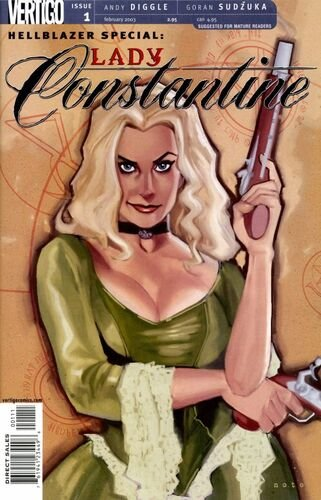 Capa da HQ Hellblazer: Lady Constantine