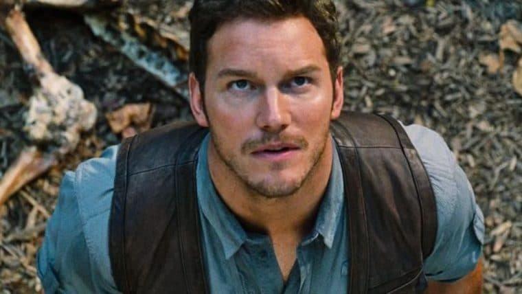 Chris Pratt aparece em imagem dos bastidores de Jurassic World: Dominion