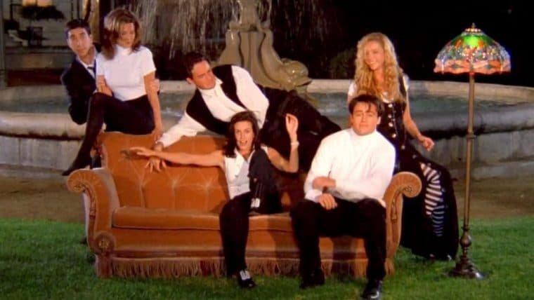 Courteney Cox não gostou de gravar a cena de abertura de Friends
