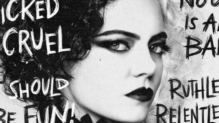 Cruella ganha novos pôsteres que apresentam os personagens