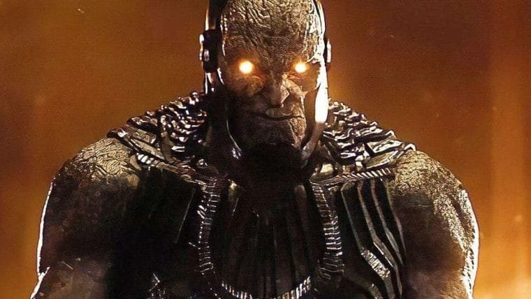Designer do Snyder Cut de Liga da Justiça revela arte conceitual do Darkseid