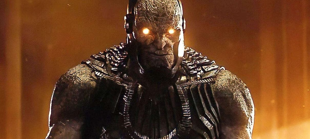 Designer do Snyder Cut de Liga da Justiça revela arte conceitual do Darkseid